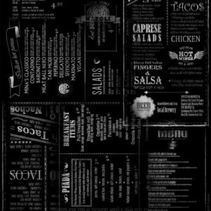 D4874 - Gorzki - Menu black