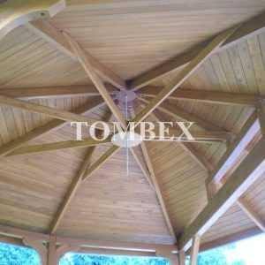 Realizacja altany ogrodowej Tombex